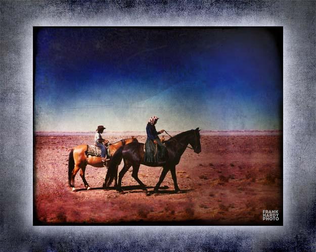 Old Lady on Horseback with Joel BG _ SFW